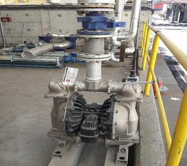 Waste Oil Transfer Pump Solutions at a Cement Factory