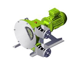 Albin Alh - ALX Series High Pressure Peristaltic Hose Pumps