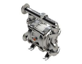 "Argal Astra Evo Dfe 30 Series 1"" Air Operated Hygienic Double Diaphragm Pumps"