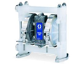"Graco Husky 307 Series 3/8"""" Air Operated Double Diaphragm Pumps"